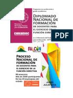 ESQUEMA DE INFORME FINAL DIPLOMADO