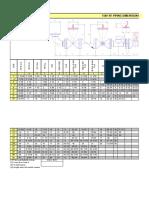 Engineering Spread Sheet via Oil Offshore Marine
