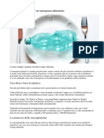 plastica negli alimenti