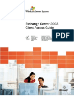 Exchange 2003 Client Access Guide