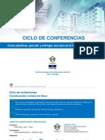 ciclo de conferencias planificar -cls