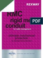 REXWAY Rigid Metal Conduit Catalogue (RMC)