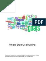 Whole Brain Goal Setting Technique