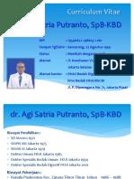 1. CV dr Agi n Materi Perkembangan  Bedah Minimal Invasif  di Indonesia