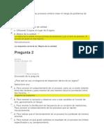 Evaluación unidad 2 aseguramiento de la calidad