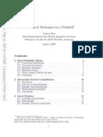 Rau J Statistical Mechanics in a Nutshell
