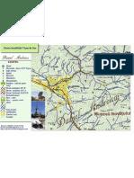 Harta Localitatii Viseu de Sus Cartiere Drumuri