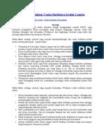 Analisis Strategi Dalam Usaha Budidaya Kodok Lembu