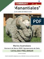 Catálogo Los Manantiales y Salto