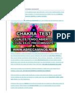 Chakras Test dominante