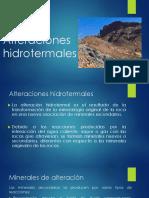 Alteraciones Hidrotermales RG