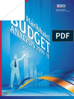 BDO Haribhakti Budget Analysis 2009-10