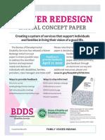 5865 BDDS Waiver Redesign April 17 Flyer