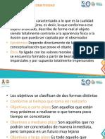 TIPOS DE OBJETIVIDAD