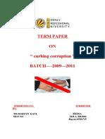 Hema-term Paper of Mpob Hema