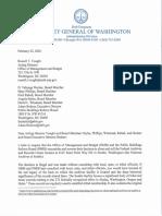 WA AG Bob Ferguson National Archives letter