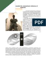 Metode si canale de comunicare interna si externa