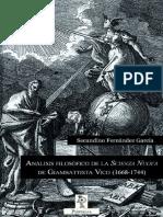 Analisis filosofico de la _Scie - Secundino Fernandez Garcia