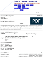 Sony Interactive Entertainment - United States Patent Application
