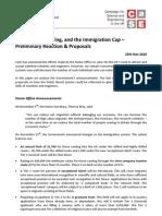 Case Migrant Cap Reaction