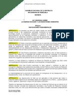 ANTEPROYECTO DE LEY NUCLEAR VENEZUELA.doc