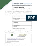 MATERIAL DIREITO CIVIL - AULA 2