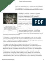 Philosophy -- Britannica Online Encyclopedia