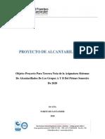 Proyecto de Alcantarillados 2020
