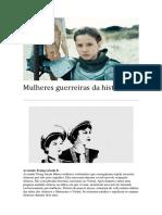 Mulheres guerreiras da história