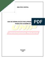 UNIP Manual de Normalizacao