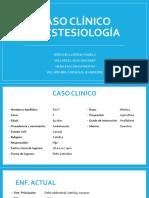 CASO CLINICO-ANESTESIO