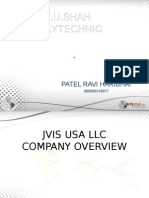 Ravi Patel Compney Profile