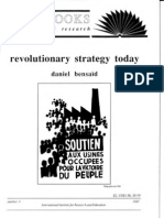 Daniel Bensaid - Revolutionary Strategy Today