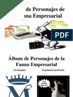 Álbum de Personajes de la Fauna Empresarial