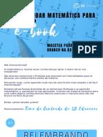 E-Book Macetes para Prova de Matemática.compressed