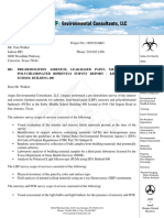 Asbestos, Lead-Based Paint & PCB Survey Report With Attachments - 400 Bldg.