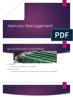 Memory Management (Platform Technologies)