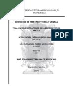 ENFOQUE ESTRATEGICO DE LA MERCADOTECNIA. PARTE 1
