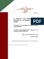 El Portafolio Como Instrumento en La Evaluación