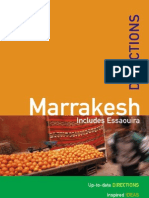 Marocco - MARRAKESH Rough Guide Directions