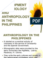 Development of Sociology and Anthropology in the Philippines
