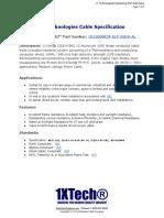 1500 MCM AL 35KV XLP CTS - 1X Technologies Cable Specification (PDF)
