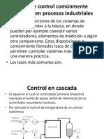 Control de procesos y tipos de lazo