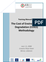 Cost of Environmental Degradation Training Manual[1]