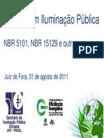 Normas em Iluminação Pública NBR 5101, NBR 15129.pdf
