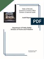 Parole and Probation Audit
