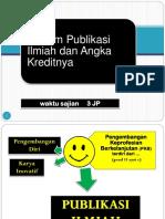 PUBLIKASI ILMIAH KUDUS.ppt