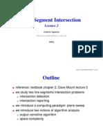 Line Segment Intersect