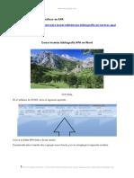 Como Insertar Bibliografia Apa Software Word 1