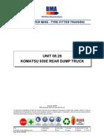 Unit 08.26 - Komatsu 930E Haul Truck